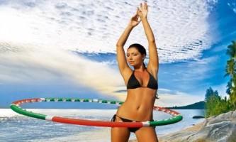 Масажний обруч для схуднення і стрункої фігури