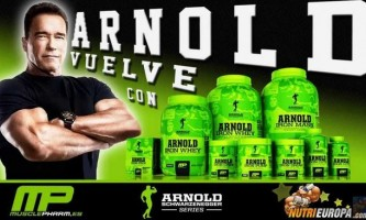Musclepharm iron whey arnold